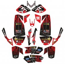 Polaris Predator Metal Mulisha EDITABLE DESIGNS Graphic Templates