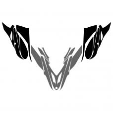 Yamaha Apex 2012 2013 2014 2015 Hood Graphic Templates