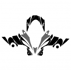 Yamaha FX Nytro Hood Graphic Templates