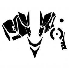Yamaha FX Phazer Hood Graphic Templates