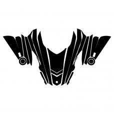 Yamaha RX1 Warrior Hood Graphic Templates