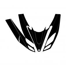 Yamaha SRX 1998 1999 2000 Hood Graphic Templates