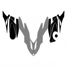 Yamaha Vector 2007 2008 2009 2010 2011 2012 2013 Hood Graphic Templates