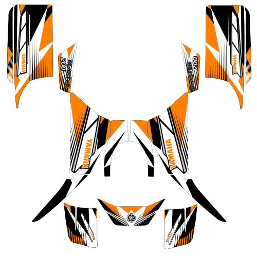Yamaha Blaster 200 Sport EDITABLE DESIGNS Graphic Templates
