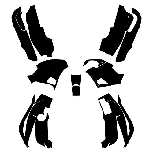 YAMAHA GRIZZLY 700 Graphic Templates