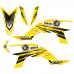 Yamaha YFZ 450 Racing EDITABLE DESIGNS Graphic Templates