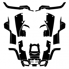Can-Am Outlander Max XT 400 Graphics Template