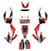 Honda CRF 250 2006-2007 EDITABLE DESIGNS Graphics Template