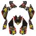 SUZUKI LTR 450 Rockstar EDITABLE DESIGNS Graphic Templates