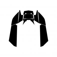 Arctic Cat F8 2007-2013 Tunnel Graphic Templates