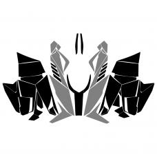 Arctic Cat ProCross 2016 (With vent) Graphic Templates