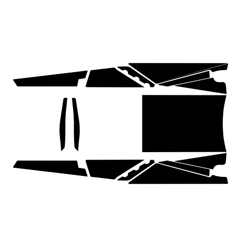 Arctic Cat Sno Pro Racer 2012- Tunnel Graphic Templates