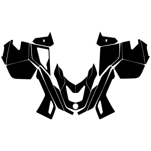 Lynx X-Trim Commander 600 Graphic Templates