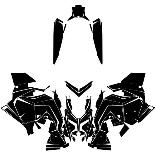 POLARIS Assault INDY XC Matryx 2021- Graphic Templates