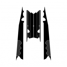 Polaris RMK Switchback Assault 2012 2013 2014 2015 2016 Tunnel 144 Graphic Templates