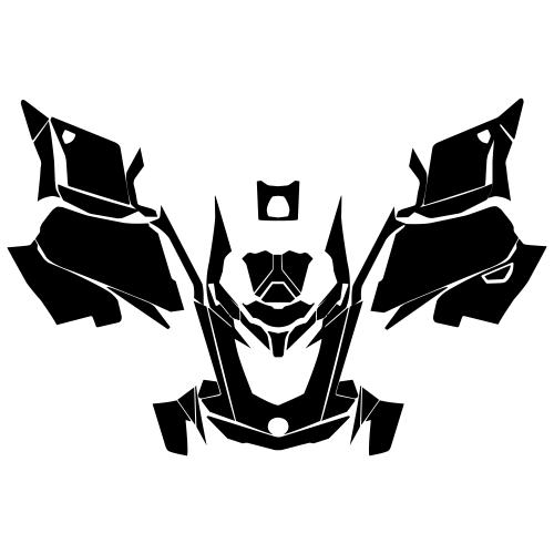 Ski-Doo GEN4 MXZ Renegade Graphic Templates