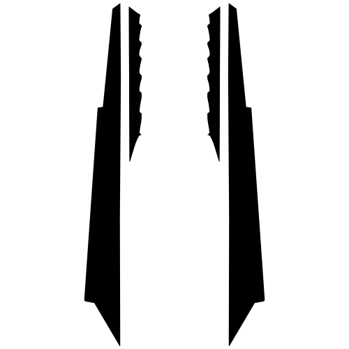 Ski-Doo Rev XM Tunnel 163 2013 2014 2015 2016 2017 Graphic Templates