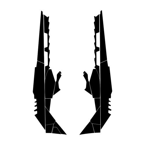 Ski-Doo Summit 800 E-Tec Tunnel 163 2014 2015 2016 Graphic Templates