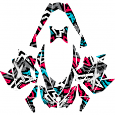 Ski-doo Summit X 2007-2012 EDITABLE DESIGNS Graphic Templates