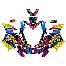SKI-DOO Gen4 850 17-18 Sport EDITABLE DESIGNS Graphic Templates