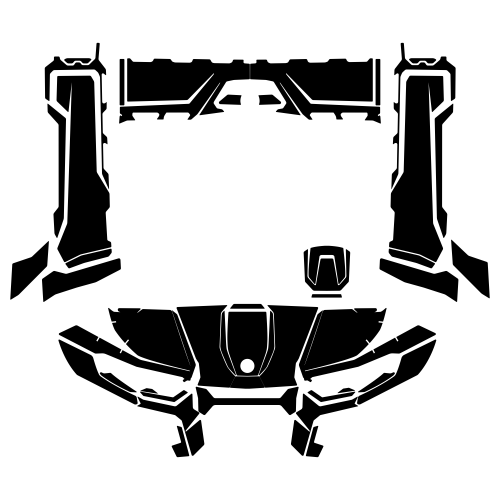 CAN-AM Traxter HD8 HD10 2020- Graphic Templates