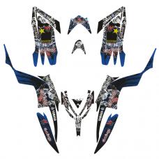 YAMAHA Raptor 700 HH 2013-2015 EDITABLE DESIGNS Graphic Templates